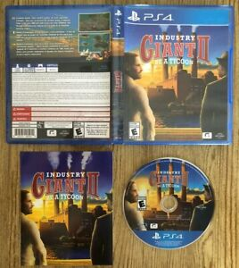 Giant-II-2-Industry-Be-A-Tycoon-Ps4-Sony-PlayStation-4-Complete