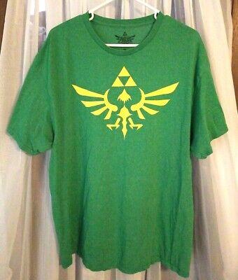 SWORD AND TRIFORCE SYMBOL COMBINED T-SHIRT S-XXL Men/'s S-XXL Zelda Game Video