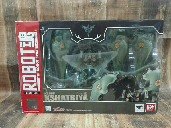 ROBOT soul Kshatriya Mobile Suit Gundam UC NZ-666 Limited JAPAN