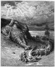 Gustave Dore gigantón Pantagruel 046 A4 Foto impresión