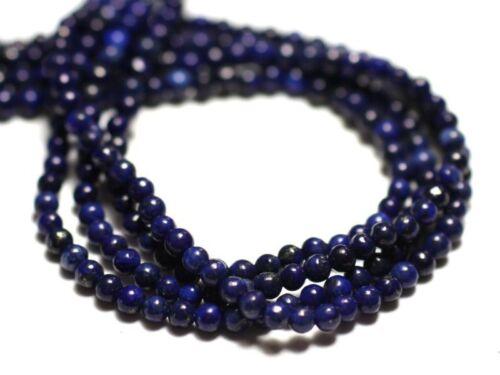 Perles de Pierre 8741140014435 Lapis Lazuli Boules 2mm 30pc
