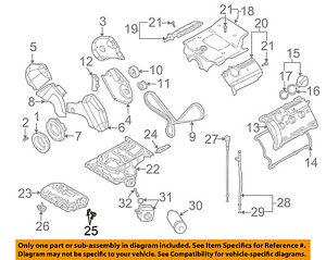 VW VOLKSWAGEN OEM 01-10 Passat Engine Parts-Drain Plug N90813202 | eBayeBay