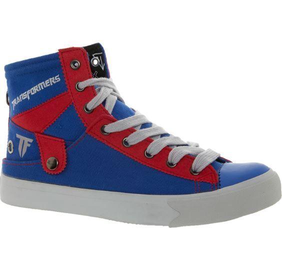 BNWT   NAT-2 Blau ROT Transformers Sneakers Canvas Schuhes 6.5