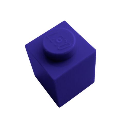 Lego 50 Stück Stein 1x1 dunkellila 3005 dark purple Steine in dukel lila Neu
