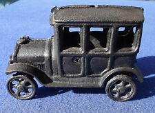 Cast Iron Vintage 4 Door Toy Automobile