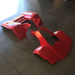 HONDA-TRX-250-85-87-FOURTRAX-PLASTIC-FRONT-AND-REAR-FENDERS-UTILITY-ATV