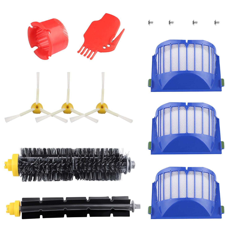 Filter Brush Kits For iRobot Roomba 600 Series 610 620 670 Vacuum Part