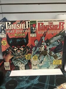 Punisher-war-journal-6-And-7-Lot-Of-2-Nm-UNREAD