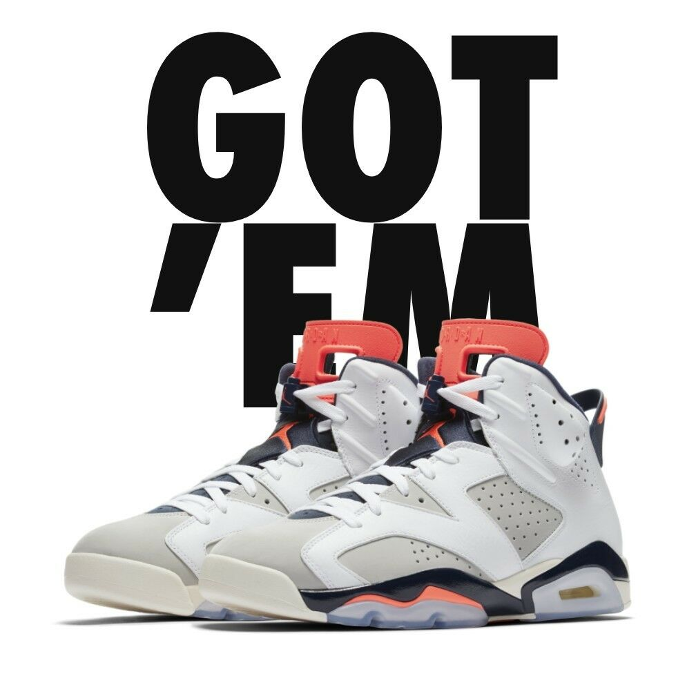 NIKE AIR JORDAN 6 RETRO TINKER WHITE INFRARED 23 SIZE 12 CONFIRMED ORDER