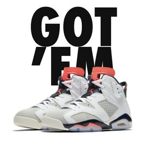 buy online 0a7cd 897a3 Details about NIKE AIR JORDAN 6 RETRO TINKER WHITE INFRARED 23 SIZE 12 - IN  HAND
