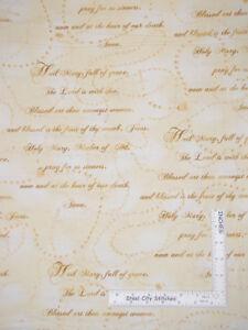 Religious-Catholic-Rosary-Pray-Beige-Cotton-Fabric-Kanvas-Studio-By-The-Yard