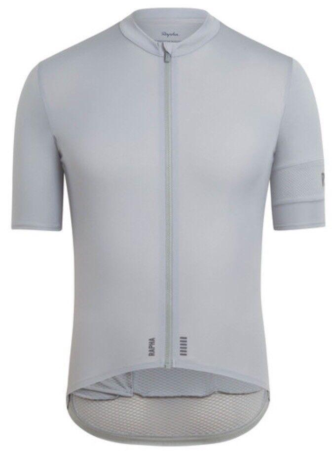 Rapha PRO TEAM Flyweight Jersey Grey BNWT Size L