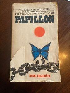 Papillon 1st Pocket Paperback, H. Charriere, 1971 VG