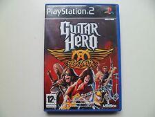 Guitar Hero: Aerosmith (Sony PlayStation 2, 2008) - European Version French
