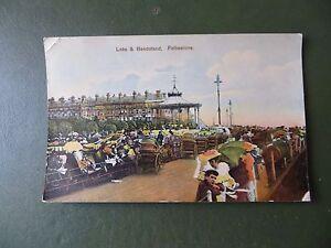 Vintage-Postcard-Hand-Coloured-Folkestone-Leas-amp-Bandstand-Rickshaw-Tricycles