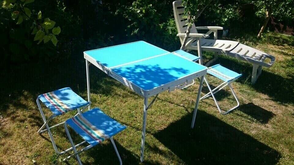 Skovtur Campingbordsæt, picnic bord sæt, strandsæt