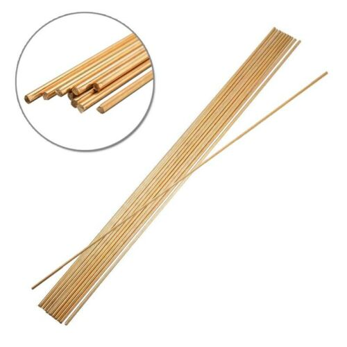 10pcs 2mm*250mm Brass Rod Wires Stick Tool For Repair Welding Brazing Soldering