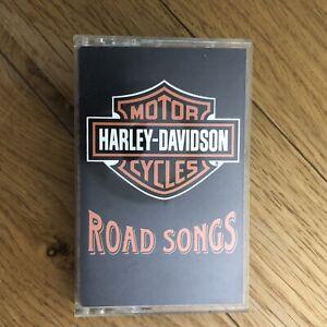 Harley-Davidson-Road-Songs-Cassette-Tape