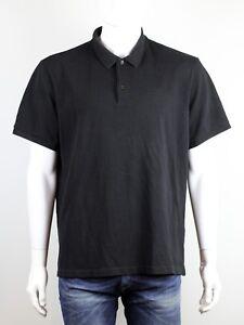 BURBERRY MEN'S BLACK POLO SHIRT SIZE 3XL   eBay
