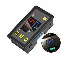 Dc 12v 20a Timing Delay Relay Module Cycle Timer Digital Led Dual Display 0 999h