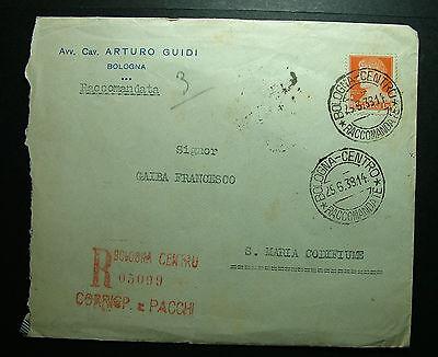 Italien & Kolonien Briefmarken Fe Empfohlen Mangelware Clever 1938 Italien 1,75 Livre Reiste Bo