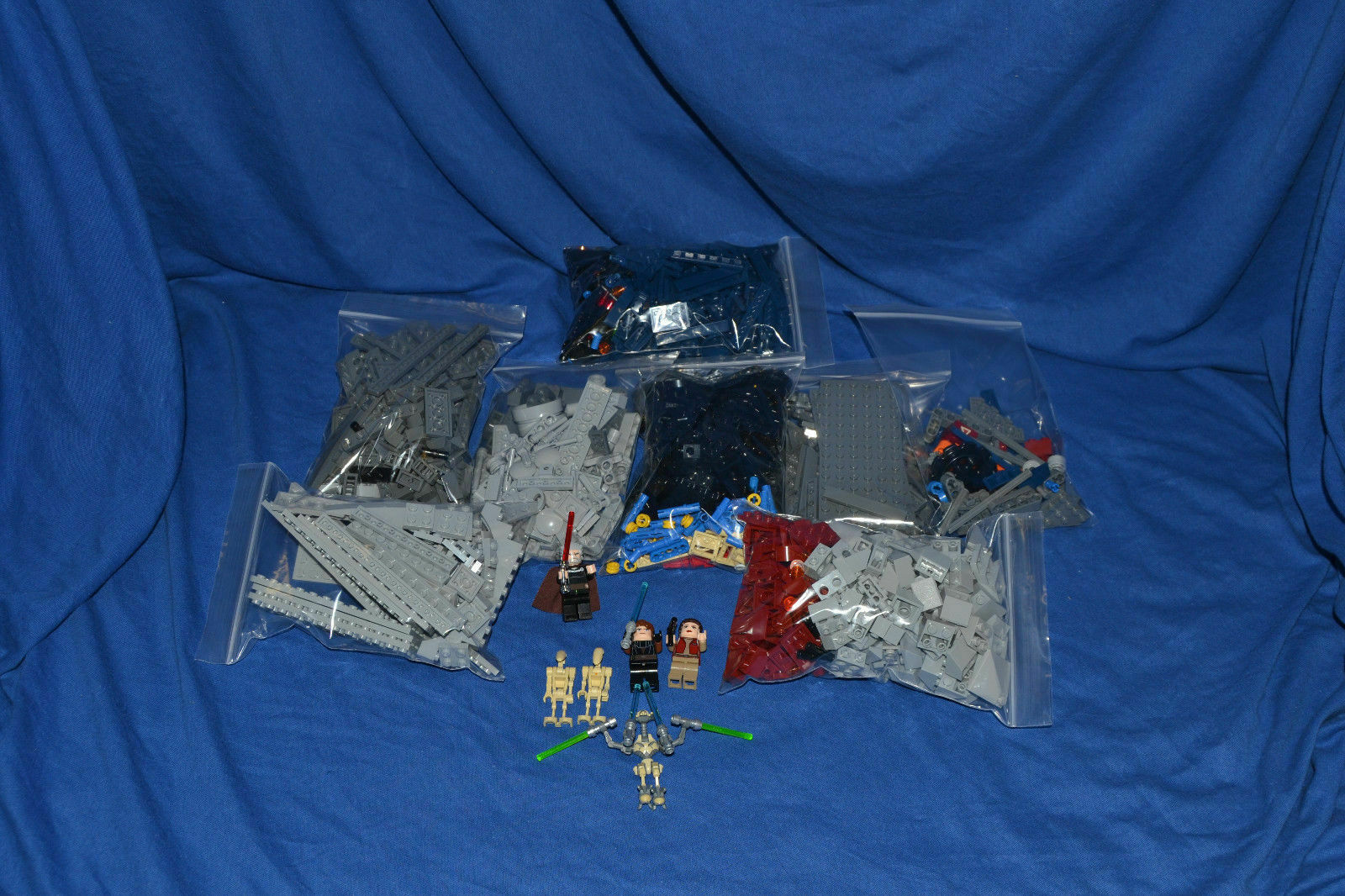 LEGO Set 9515 Star Wars die Bösartigkeit The Malevolence ohne Bauanleitung