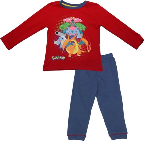 Pokemon Adventure Long Sleeved Cotton Pyjamas