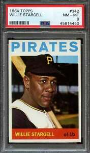 1964-TOPPS-342-WILLIE-STARGELL-PSA-8-PIRATES-HOF-ADT4100