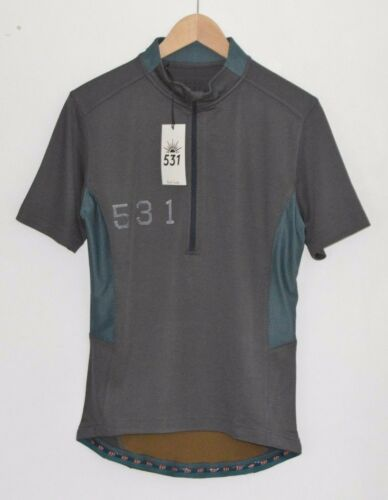 PAUL SMITH 531 grey cycling temperature control jersey tshirt tshirt top MEDIUM