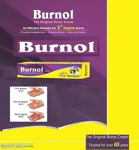 Burnol The Original Burns Cream in 10 grams Dr.Morepen