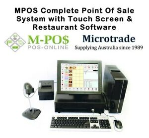 New-Point-of-Sale-System-MPOS-Restaurant-Software-15-034-Touch-Screen-LCD-Win10