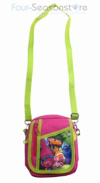 9425148bb4f42 Trolls Poppy Hot Pink Camera Pouch Bag Wallet Purse With Shoulder Strap.  Size 7