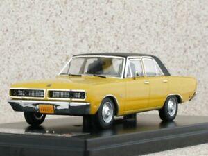 DODGE Dart Gran Sedan - 1976 - yellow / black - Premium X 1:43