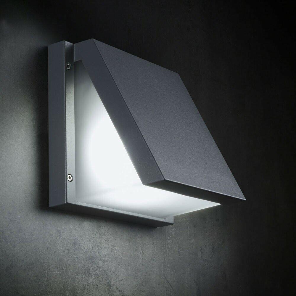 Licht-trend Victoria Led-Lampe de Mur 22cm 550lm Murale Anthracite Vacance