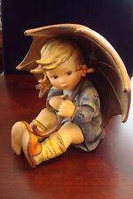 """Hummel """"Umbrella Girl"""", TM2, c1950, # 152 B, 8"""" tall, no original box or cert"""