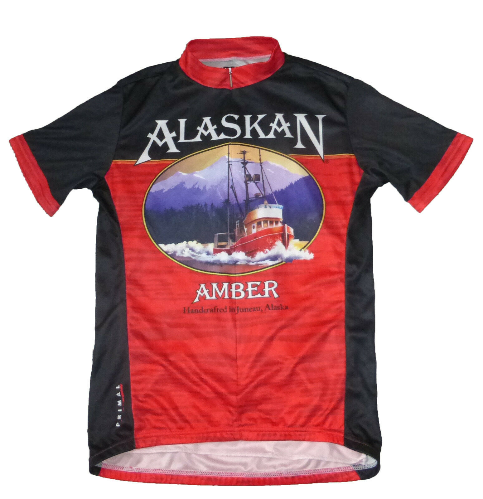 Primal ALASKAN AMBER Short-Sleeved Bike Jersey, Men's M
