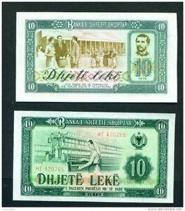 Image Is Loading Albania 1976 10 Lek Unc