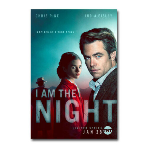 I Am The Night TV Series Art Silk Poster Canvas Print