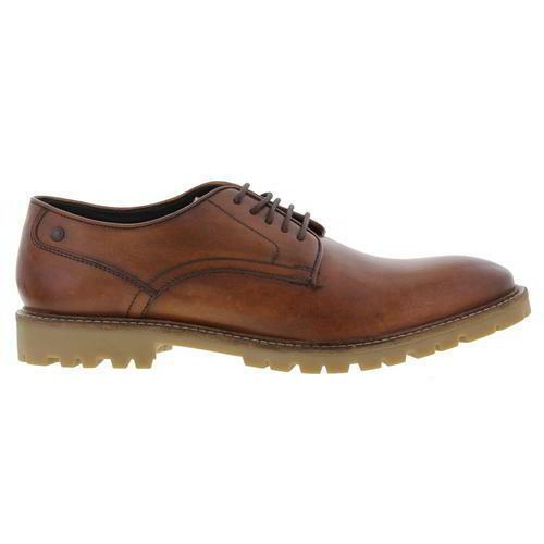 Herren Schwarz 7 Mto Bugsy 11 Größen UK Schuhe London Base