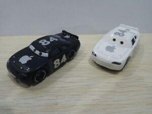 Disney-Pixar-Cars-No-84-Apple-Icar-amp-Black-Apple-Icar-Toy-1-55-New