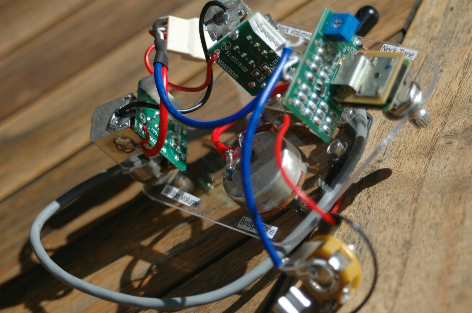 Epiphone Les Paul Pro Wiring Harness Coil Split AND Quadra Distortion Drive