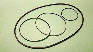 Belts Riemen Set für Philips N 4504 Tonband Tape Recorder