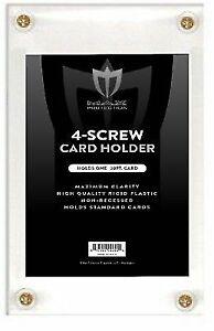 Lot-of-20-Max-Pro-4-Screw-NON-RECESSED-Baseball-Trading-Card-Screwdown-Holders