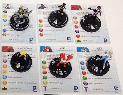 Streets of Gotham set Hawk #005 Fast Forces figure w//card! Heroclix Batman