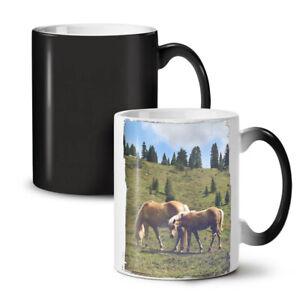Wild Animal Horse NEW Colour Changing Tea Coffee Mug 11 oz   Wellcoda