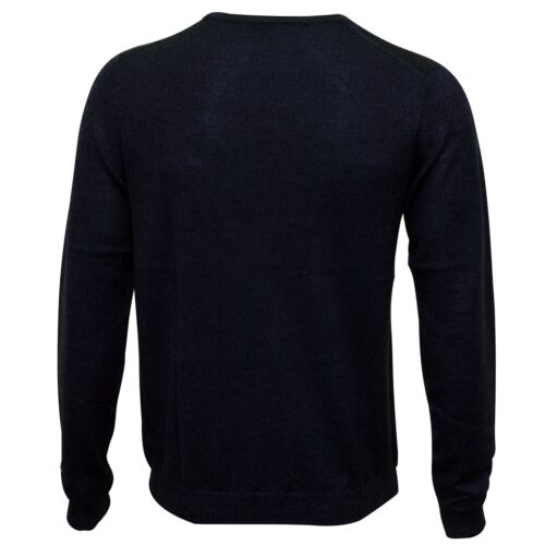 a Indigo Calvin lavorato Klein girocollo maglia con Maglione uomo Mouline 1p6TqnWE