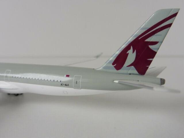 Airbus A350-900 QATAR AIRWAYS 1/500 Herpa 530675 A350 XWB A7-ALC DOHA