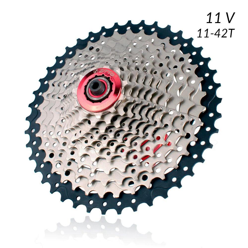 Cassette 11v 11-42 Dientes Compatible Shimano Transmision 1x11 2x11 Bici MTB