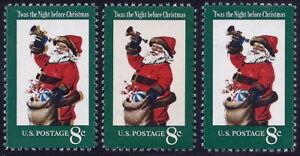 "1472 Color Shift Error / EFO ""Santa Claus"" 2 Diff. & Normal Mint NH"