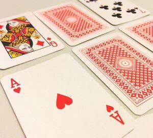 Lot-of-9-Full-Decks-mini-miniature-2-034-small-poker-game-Playing-Cards-FREE-SHIP